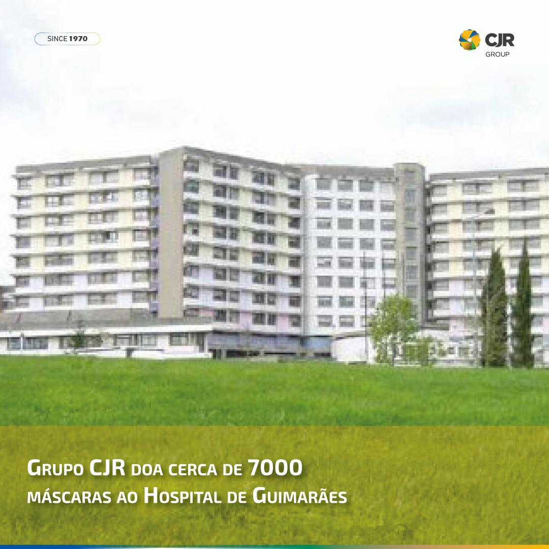 Grupo CJR doa cerca de 7000 máscaras ao Hospital de Guimarães