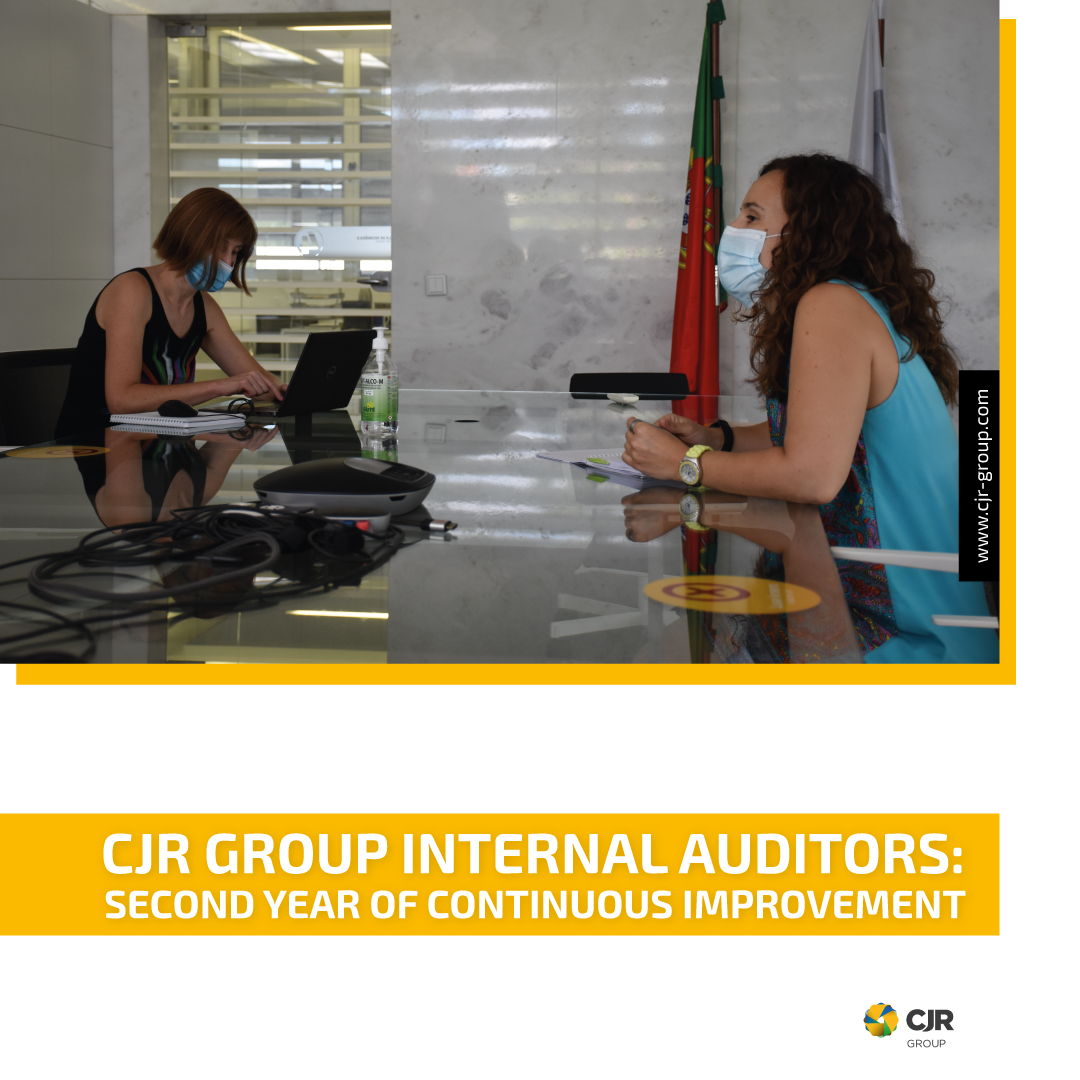 CJR GROUP INTERNAL AUDITORS: SECOND YEAR OF CONTINUOUS IMPROVEMENT